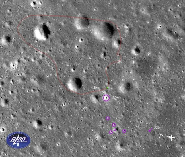 chang'e-4 yutu-2 dark side of the moon