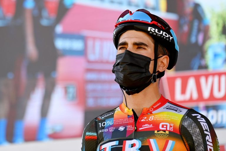 Mikel Landa at stage three of the Vuelta