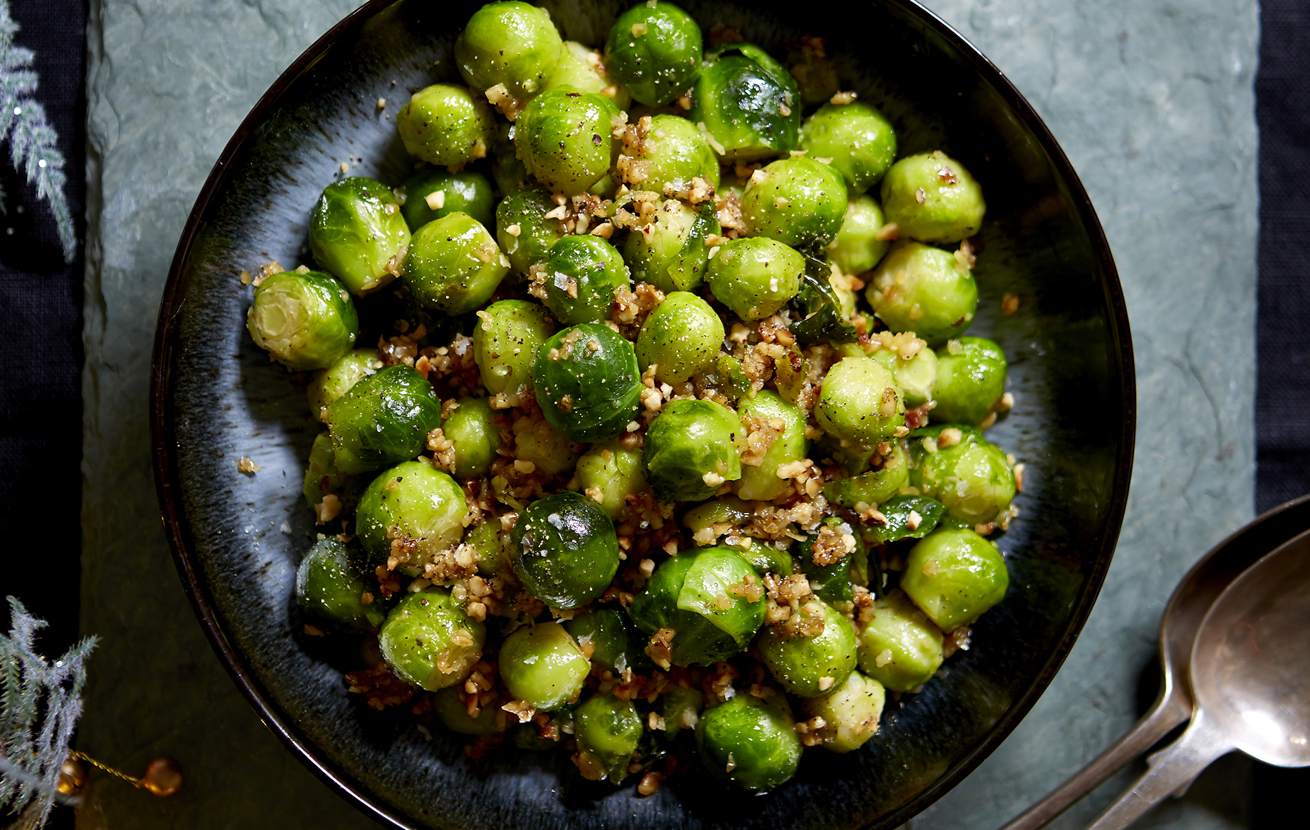 Your Christmas dinner won't be complete without these french style garlic brussel sprouts