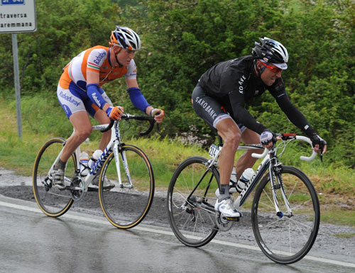Sorensen and Flens, Giro d'Italia 2010, stage 7