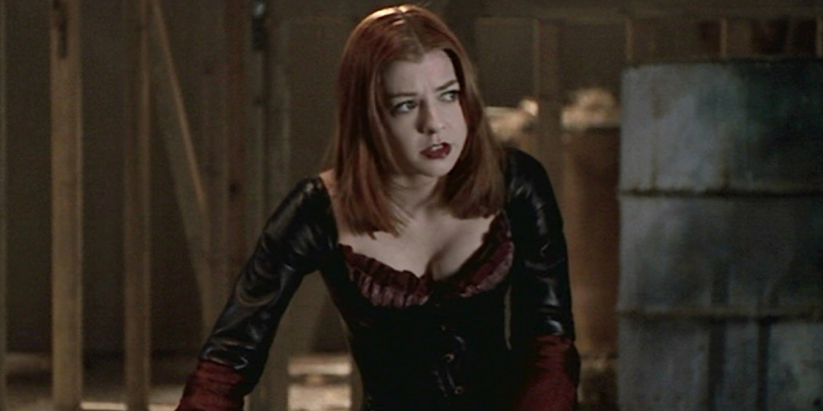 Alyson Hannigan as Willow Rosenberg on Buffy the Vampire Slayer