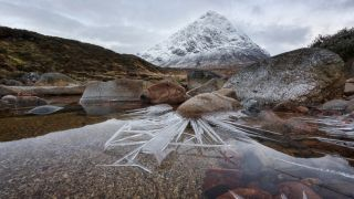 Pete Rowbottom's winning image: Ice Spikes, Glencoe, Scotland