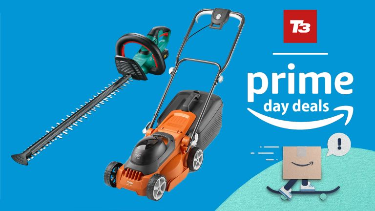Prime Day deals cordless lawnmower hedge trimmer