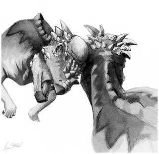 pachycephalosaurs fighting