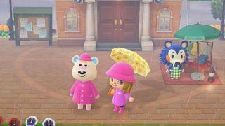 Animal Crossing: New Horizons umbrella