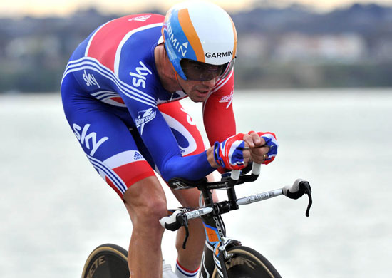 David Millar, World Championships 2010, men's time trial