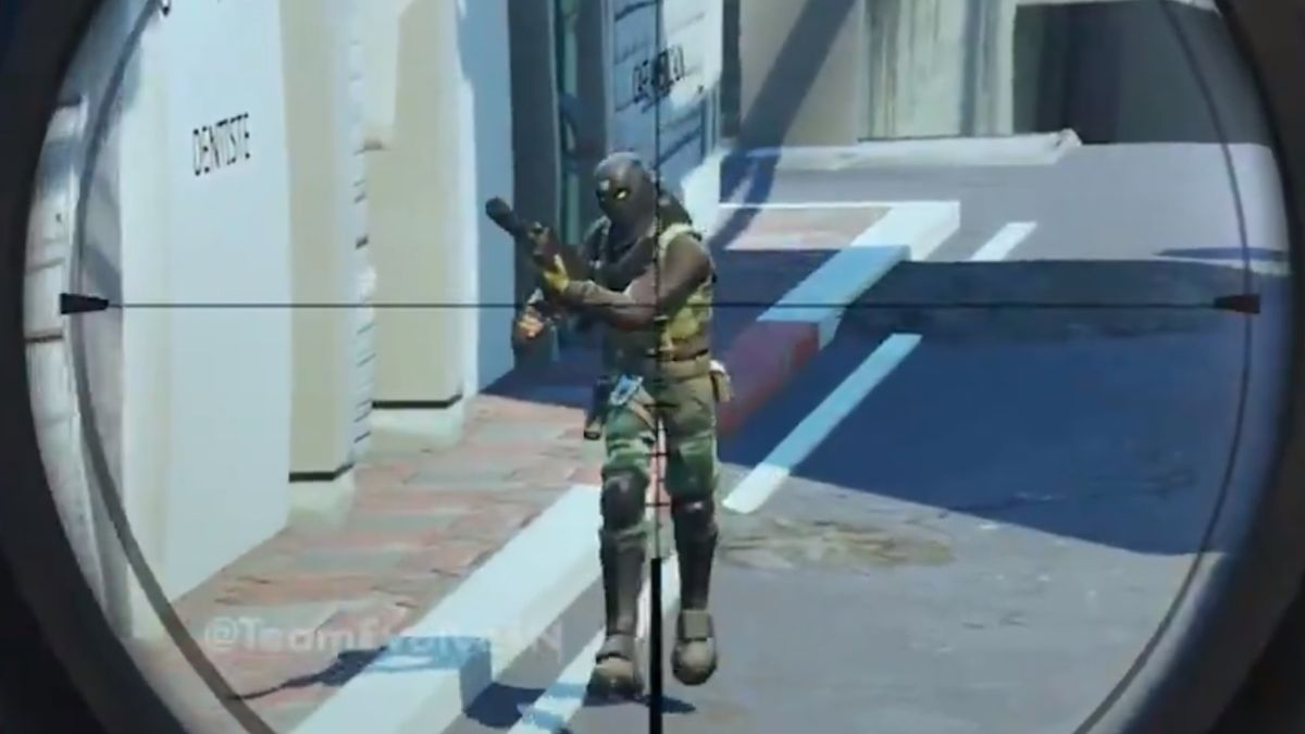 Fortnite goes full Counter-Strike with this Dust 2 map for Search & Destroy
