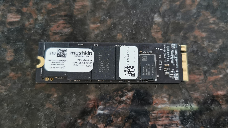Mushkin Gamma PCIe M.2 2TB SSD