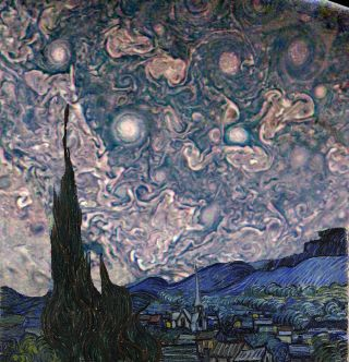Jupiter Starry Night