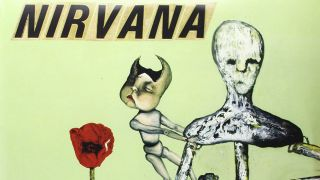 A picture of the cover of Nirvana's Incesticide