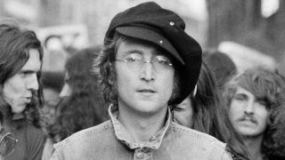 John Lennon during his solo career