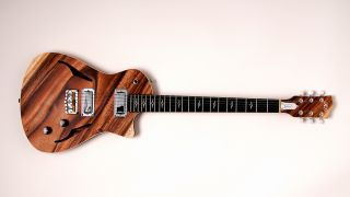 Gilmore Guitars has introduced the monkeypod-constructed Bobby G