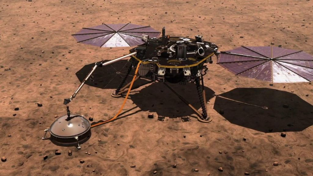 The mysterious core of Mars is on the large side, NASA's InSight lander data suggests