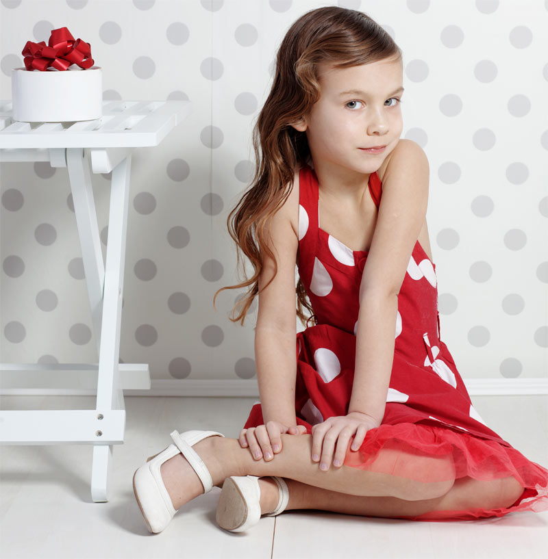 Photo Girls 7 Yo In Stockings