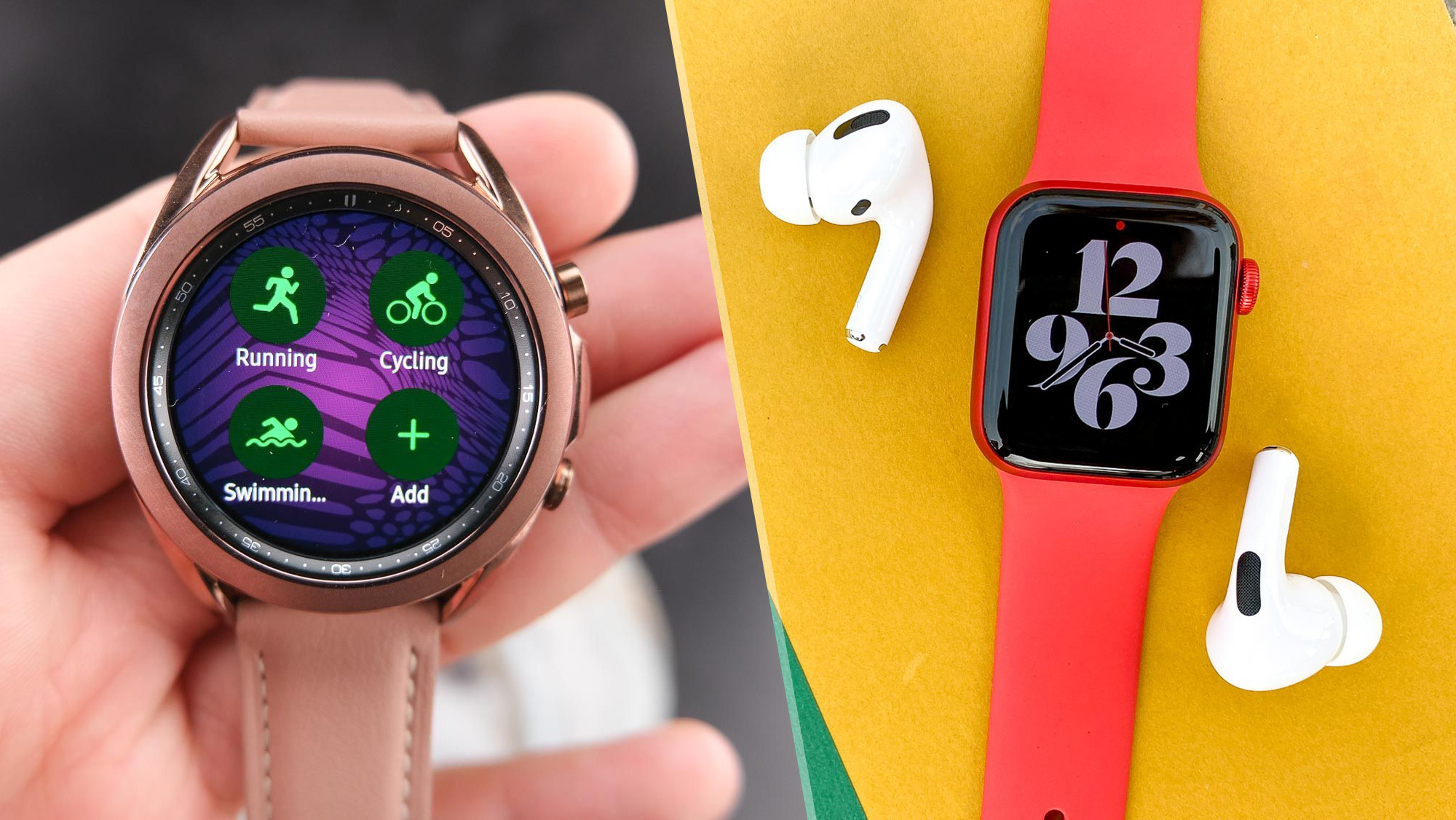 Apple Watch 6 Vs Samsung Galaxy Watch 3 Which Smartwatch Is Best Tom S Guide