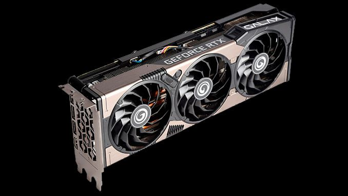 Galax Launches First GeForce RTX 3080, RTX 3070 With Ethereum Nerf