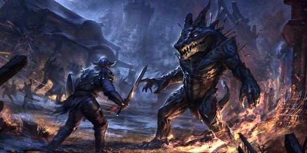 Elder Scrolls Online Level 50 Veteran Content Includes Adventure