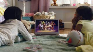 Kids streaming Netflix programming