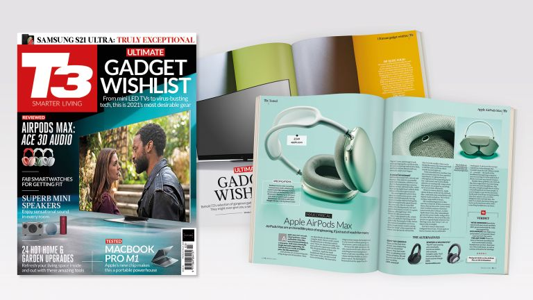 Cover of T3 issue 318 featuring the cover line 'Ultimate gadget wishlist'.