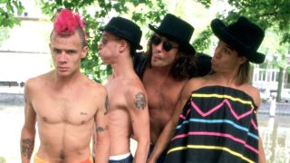 Red Hot Chili Peppers circa 1990
