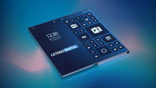 Intel folding phone