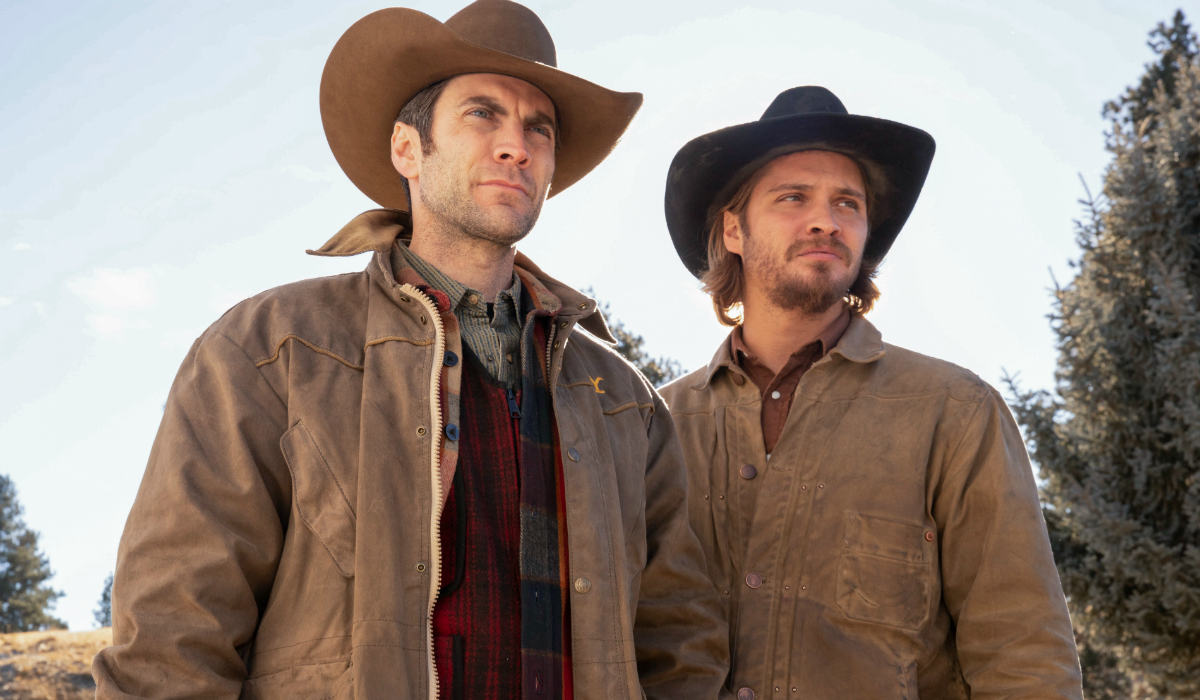 Yellowstone Jamie Dutton Wes Bentley Kayce Dutton Luke Grimes Paramount Network