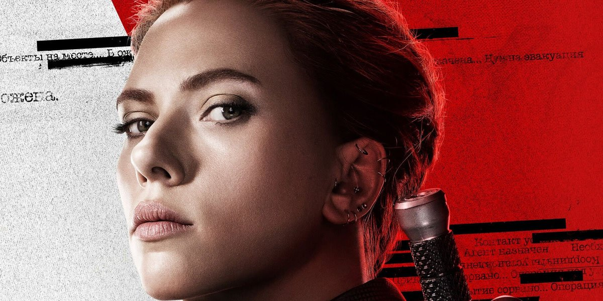 Black Widow in official character poster 2020, Marvel