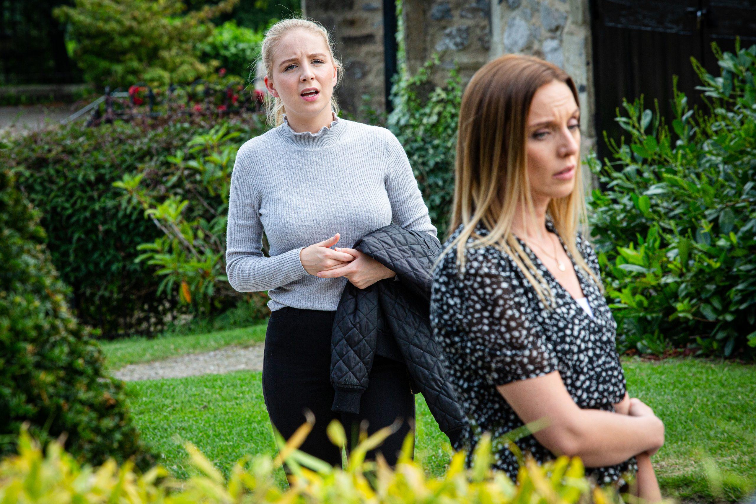 ¿Se arrepentirá Belle de estar con Andrea en Emmerdale?
