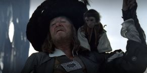 Captain Barbossa Almost Looked Very Different In Pirates Of The Caribbean