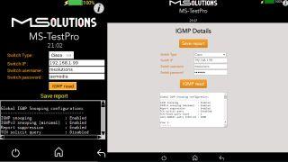 MSolutions IP Network Analyzer software