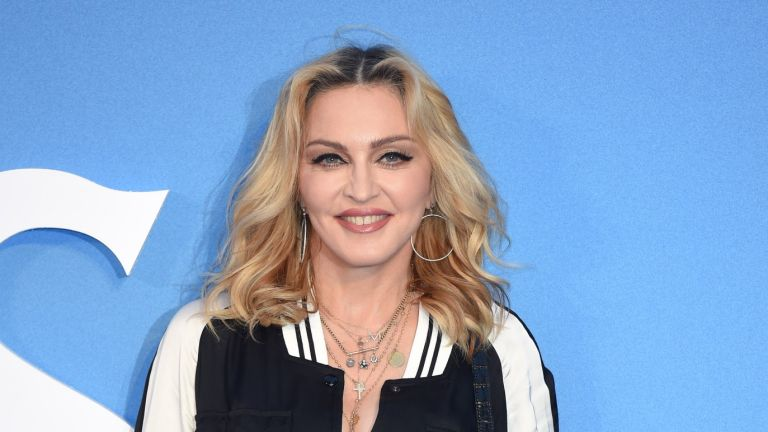 """Madonna arrives for the World premiere of """"The Beatles: Eight Days A Week"""