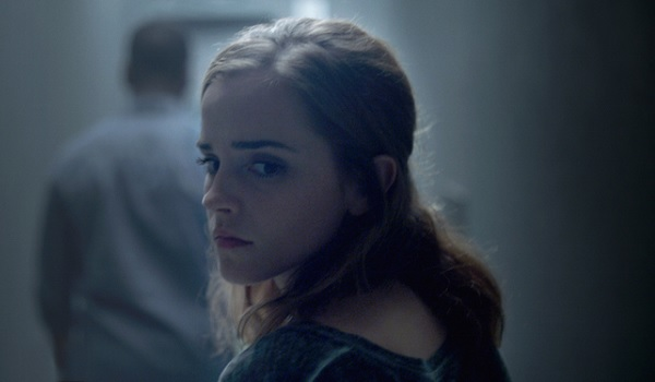The Circle Emma Watson Reluctant Look Over Shoulder