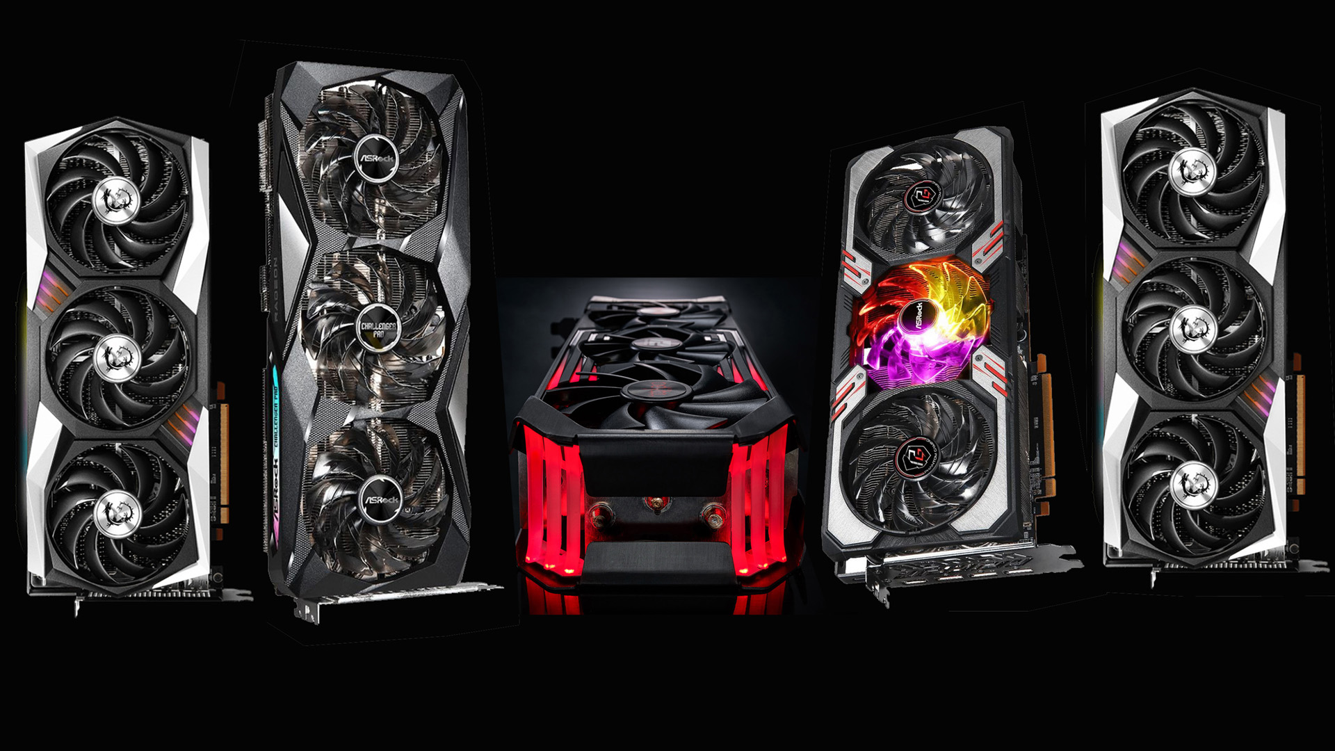Here's every custom RX 6800 and 6800 XT graphics card announced so far, all huge