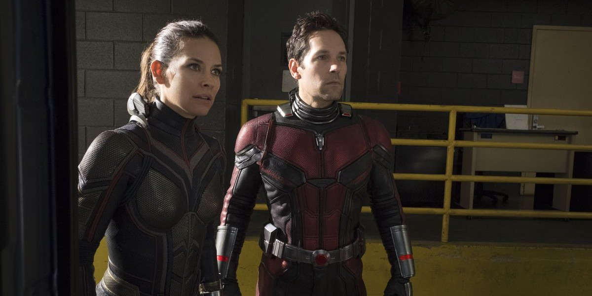 Evangeline Lilly, Paul Rudd - Ant-Man and the Wasp