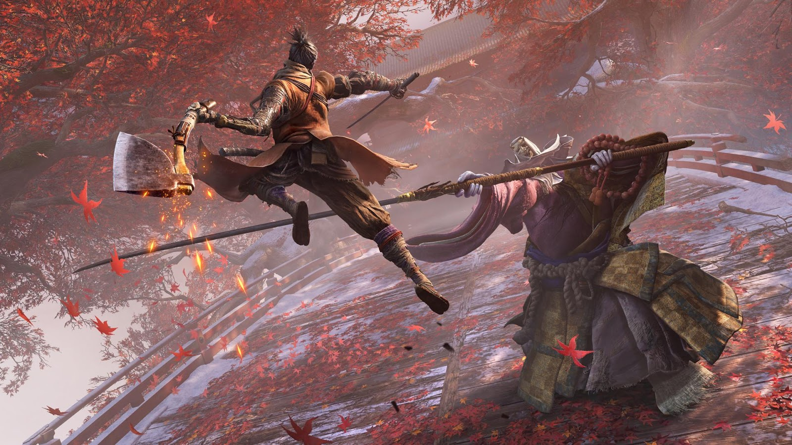 Stand against the mighty bosses of Sekiro: Shadows Die Twice