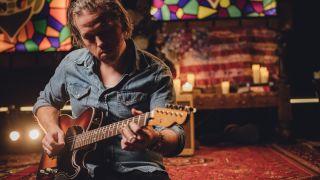 Jason Isbell with his Fender Custom Telecaster
