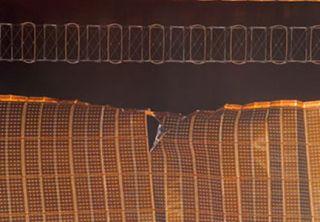 NASA: Space Station Solar Wing Repair a 'Top Priority'