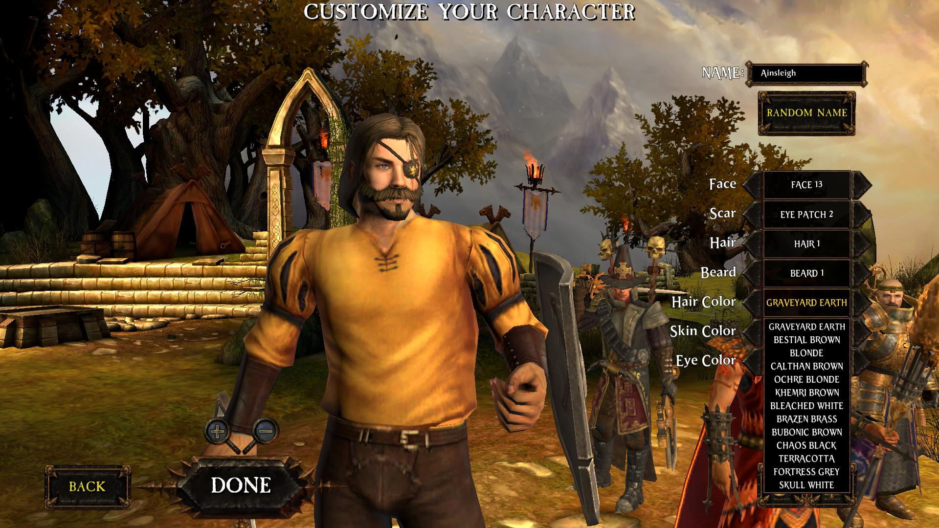Remembering Warhammer Online's excellent character creator   PC Gamer