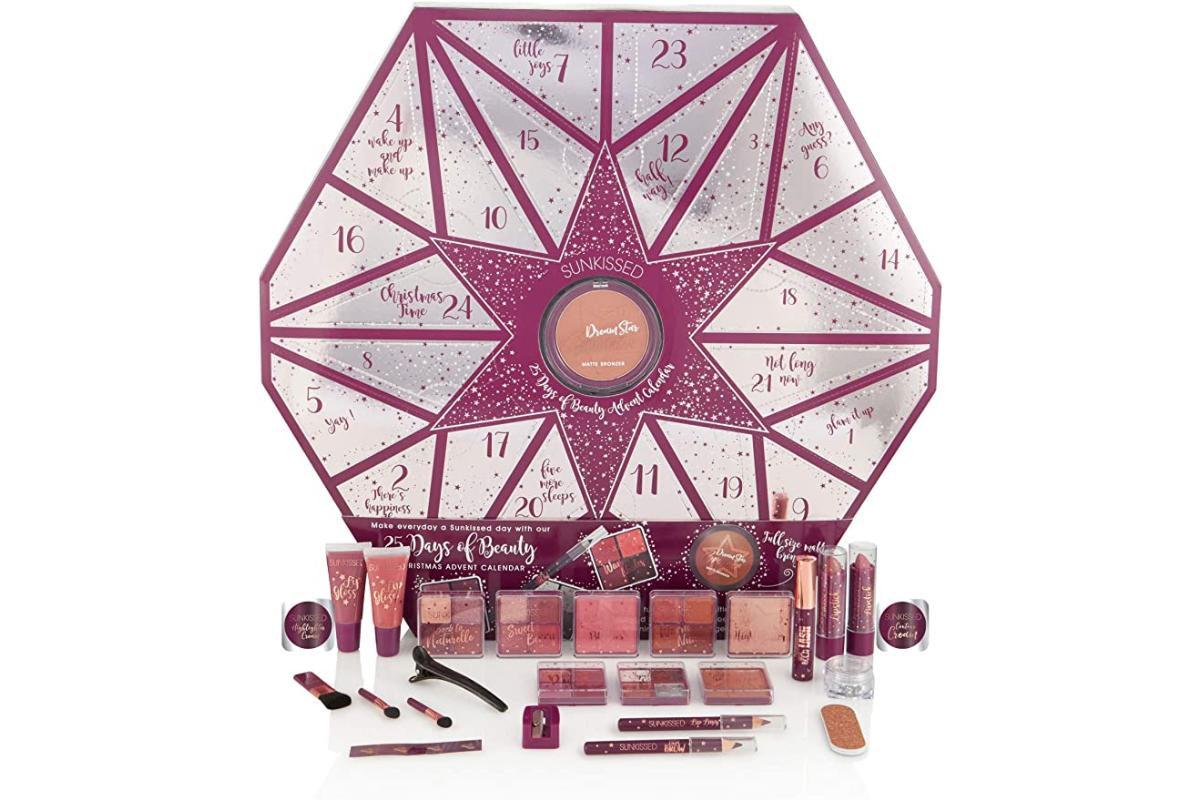 sunkissed advent calendar: makeup advent calendars