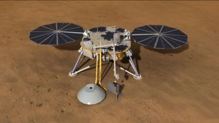 InSight Mars Lander Delivers Drill 2