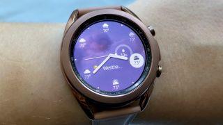Samsung Galaxy Watch 3 weather