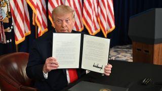 President Trump executive orders stimulus