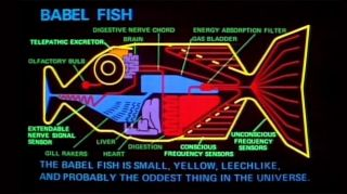 The Babel fish is just one example of the incredible imagination of Douglas Adams.