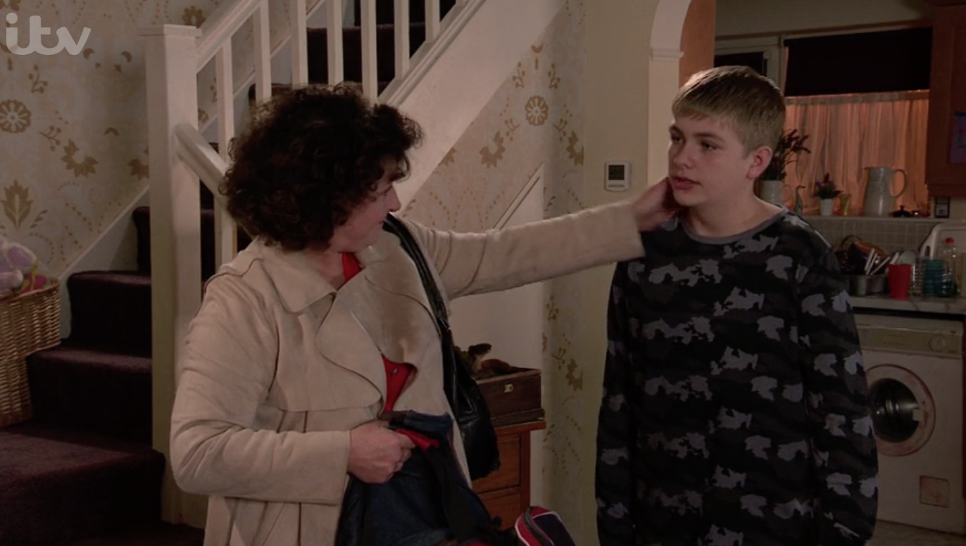 Max goes to stay with Marion in Coronation Street ITV