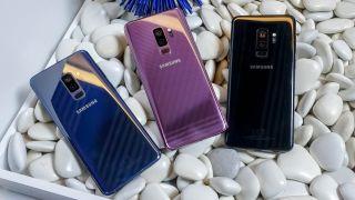 The Samsung Galaxy S9 Plus. Image Credit: TechRadar