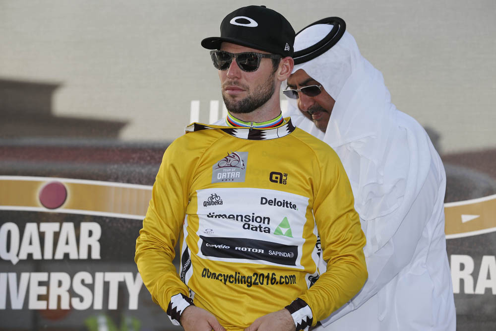 Mark Cavendish Back In Tour Of Qatar Lead After Stage Four