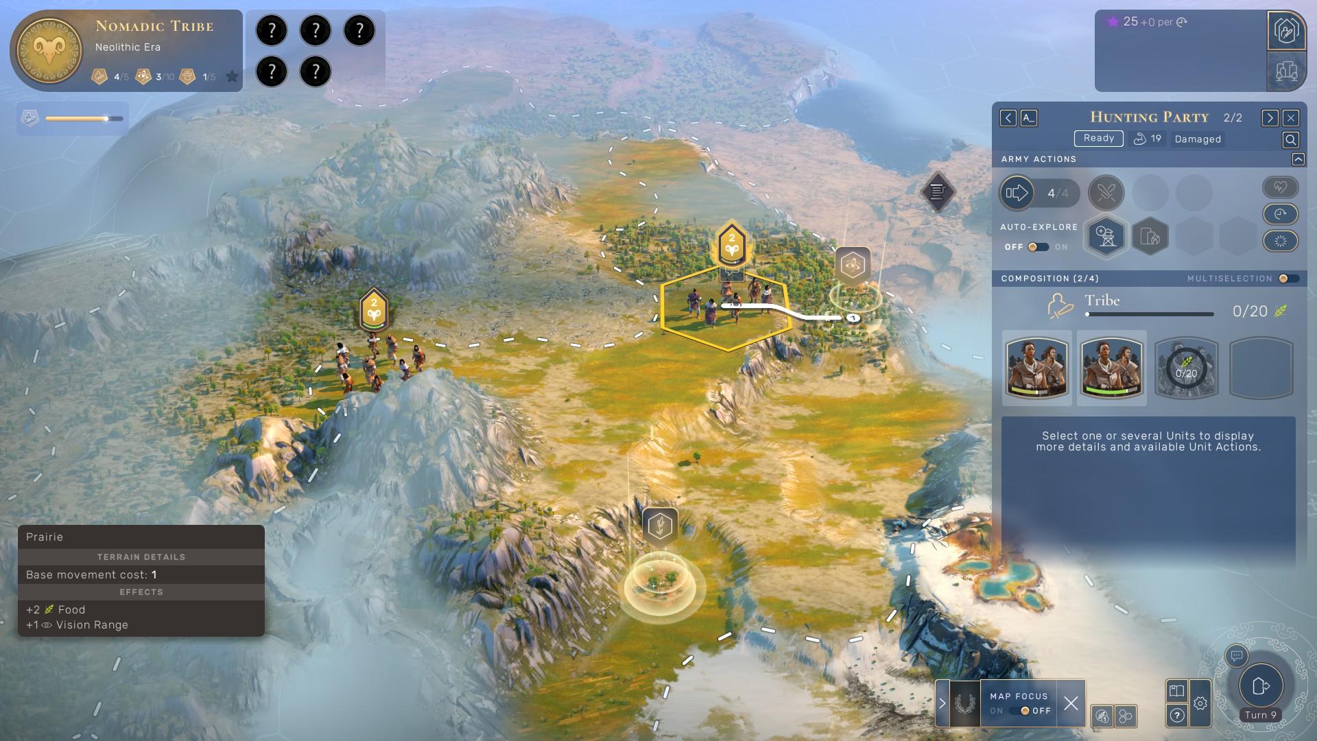 humankind tips - neolithic era