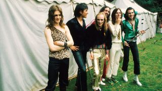 A shot of Roxy music in their early days