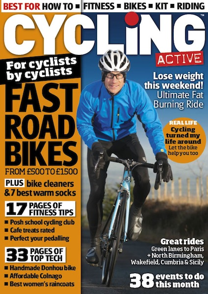 Cycling Active April 2014 issue