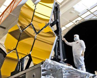James Webb Space Telescope Inspection